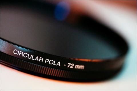 Filtro polarizzatore per fotografia